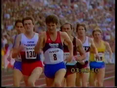 Steve Ovett - 1500m Bislett Games, Oslo 1983