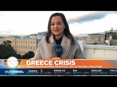Greece Crisis: Macedonian naming proposal splits ruling coalition | #GME