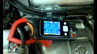 Приборчик дВ1 Проверка генератора на автомобиле.