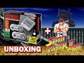 Super NES Mini - Unboxing + Street Fighter II Turbo