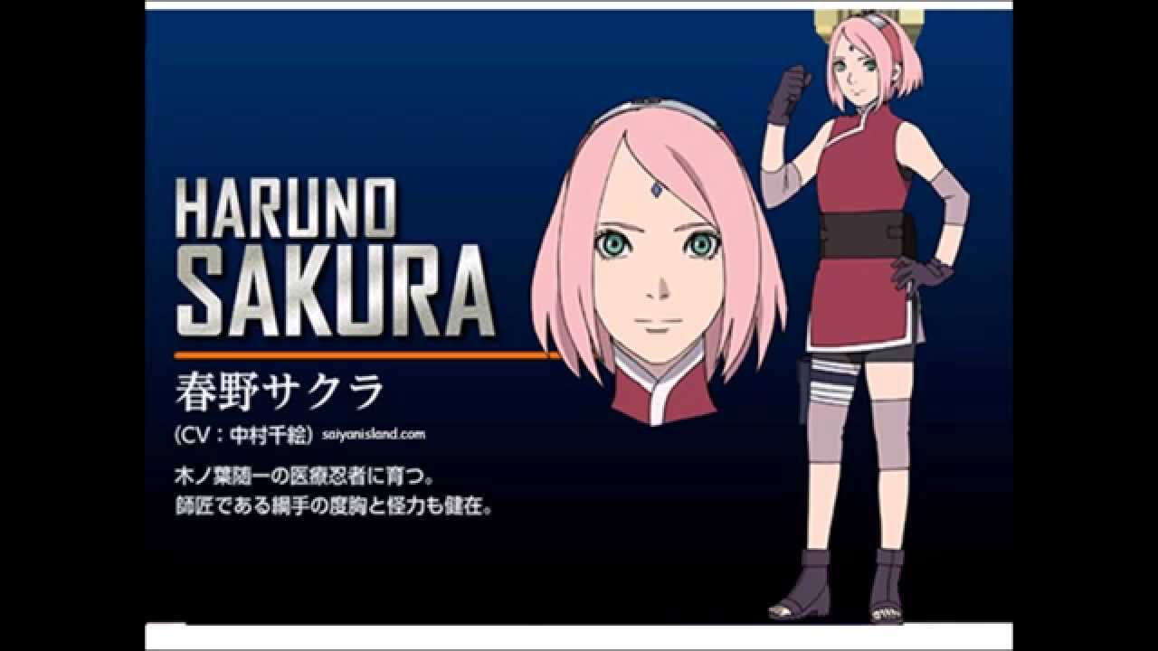 The Last Naruto The Movie Full Character Designs Colored