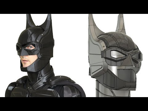 Batman Cosplay Suit #6 with Ninjaflex | James Bruton