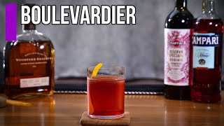 How to make Tнe Boulevardier cocktail