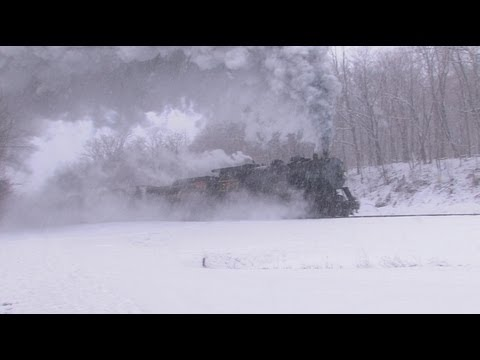 Mountain Winter - Steam, Smoke and Thunder