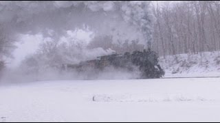 Mountain Winter - Steam, Smoke and Thunder on the Western Maryland Scenic Railroad