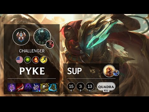 Pyke Support vs Leona – NA Challenger Patch 10.16