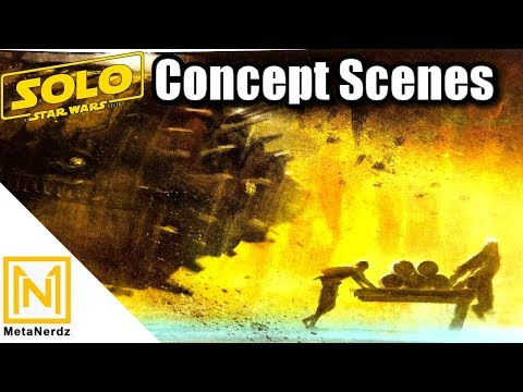 The AMAZING Scenes That Could Have Been - Solo: A Star Wars Story Concept Art  - Star Wars Explained