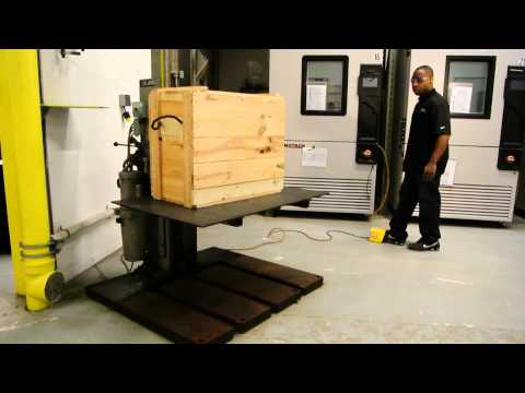 ISTA-ASTM - Drop Test of a Wooden Crate