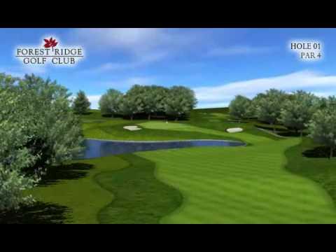 Forest Ridge Golf Course Hole 1
