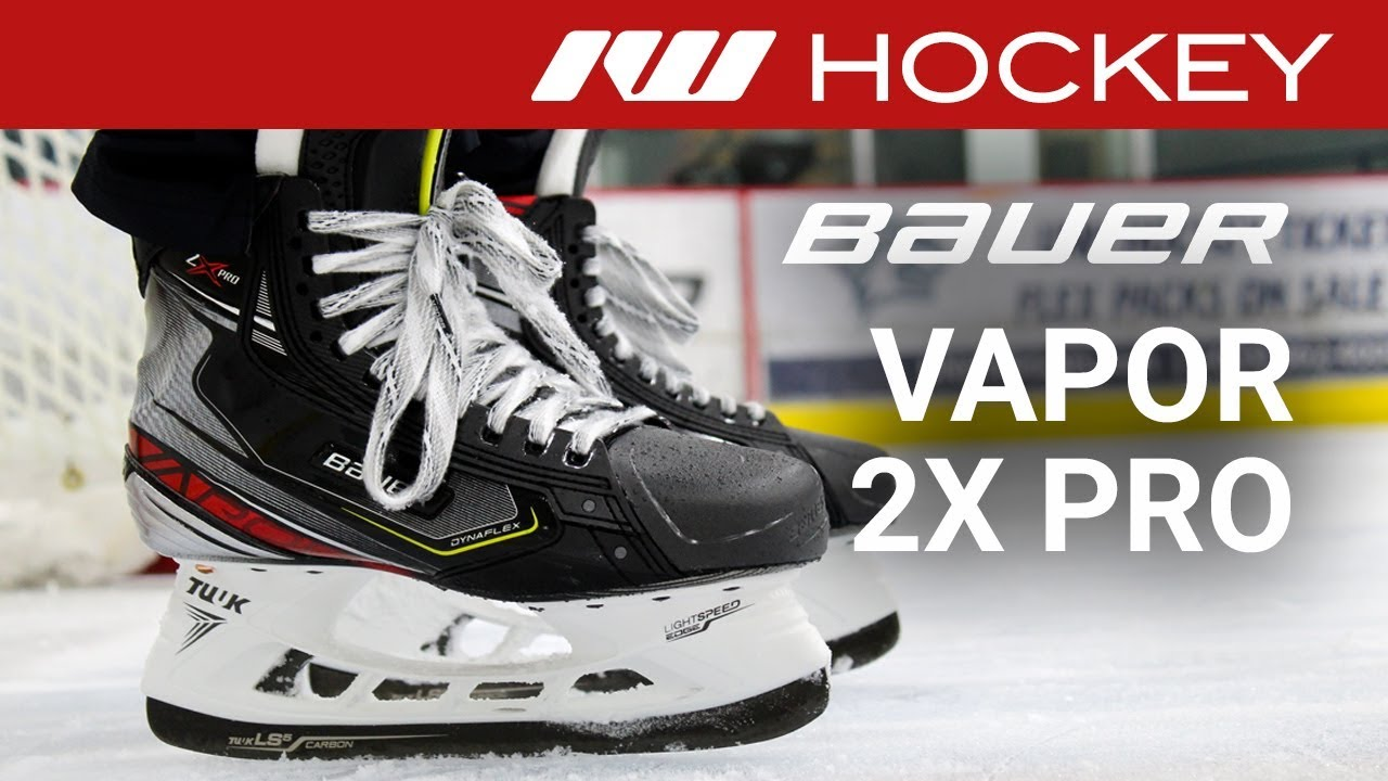Bauer Vapor 2X Pro Skate On Ice Review