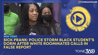 Police storm black student's dorm after white roommates calls in false report