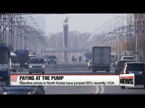 Gasoline prices in North Korea have jumped 85% recently: VOA