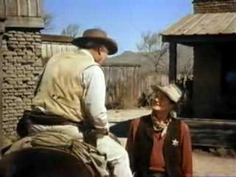 The Duke. John Wayne