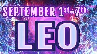 ✨LEO September 1st - 7th WEEKLY TAROT READING ♌️ Sun, Moon, Rising, Venus in LEO Weekly Outlooks ✨