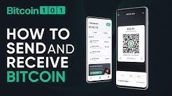 How to send and receive Bitcoin - Bitcoin 101