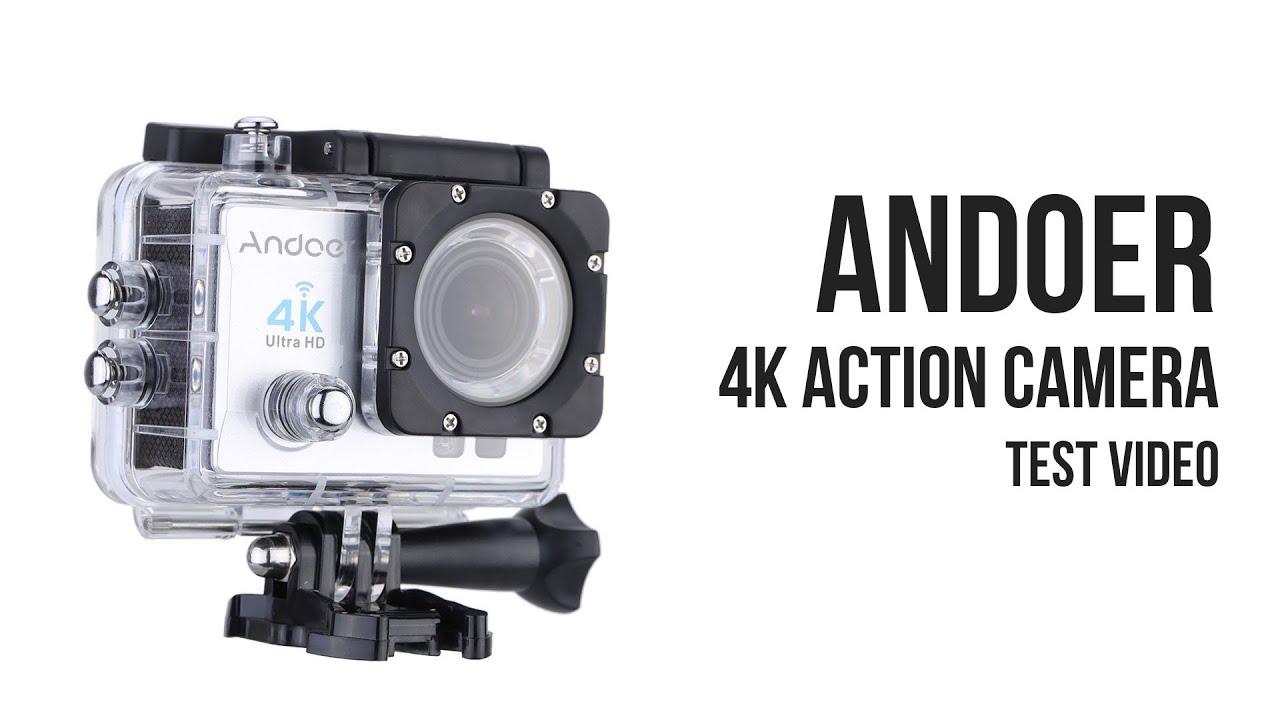 andoer 4k action camera test video youtube. Black Bedroom Furniture Sets. Home Design Ideas