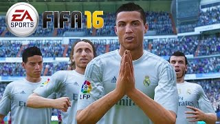 FIFA 16 Gameplay - Real Madrid vs Chelsea [1080p HD 60FPS] World Class Mode