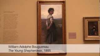 The Young Shepherdess | William-Adolphe Bouguereau