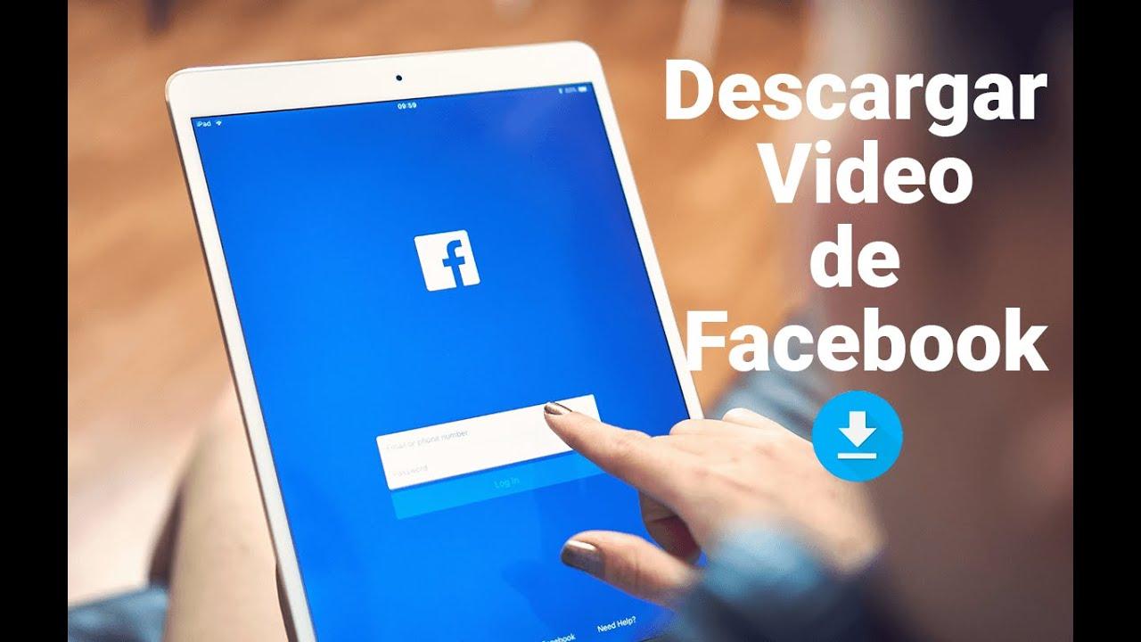 como descargar un video de facebook desde mi celular iphone