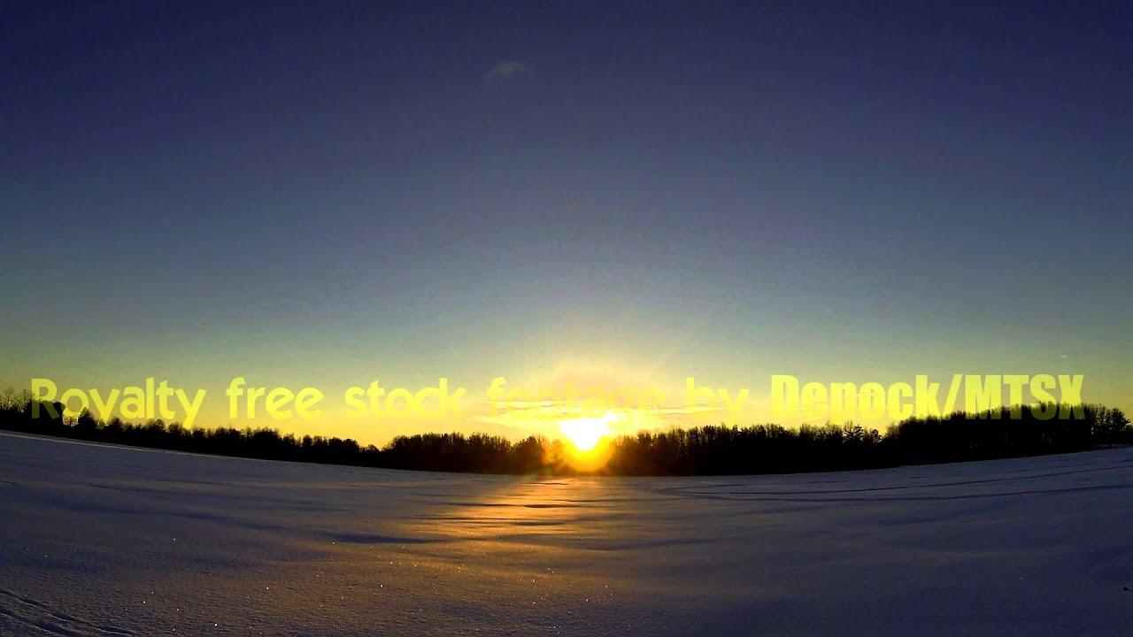 Stock Video footage - Sunrise - Royalty free - Free ...