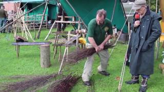Making Besom Brooms