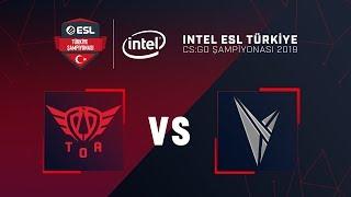 CS:GO - TOA Esports vs. Valstars / Mirage   Intel ESL Türkiye Şampiyonası 4. Hafta 1. Gün