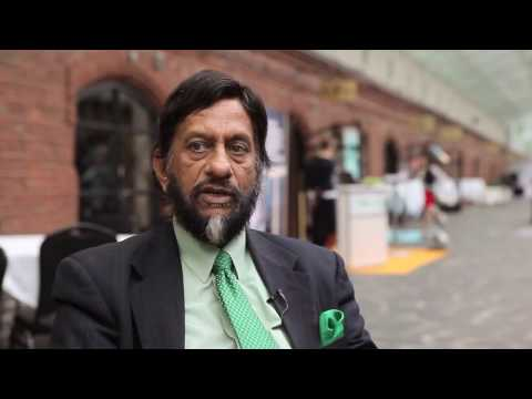 Dr Rajendra K. Pachauri, the chairman of the IPCC | Wärtsilä ...