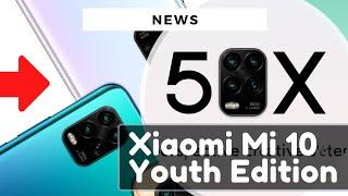 XIAOMI MI 10 YOUTH EDITION : une 4ème version du Mi 10 !