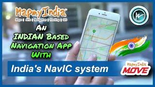 🇮🇳 #MapMyIndiaMove App For Maps Navigation & Tracking // First NAVIC Based INDIAN Navigation App 🇮🇳 screenshot 3