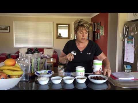 How To Make Herbalife Walnut Choc Balls