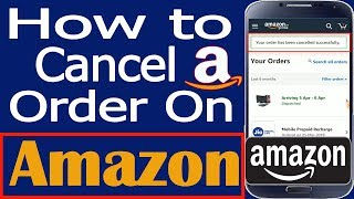 How to cancel Order On Amazon | Amazon order cancel kaise kare