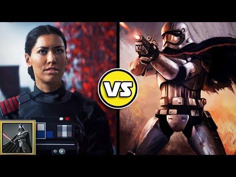 Star Wars Versus: Captain Phasma VS. Iden Versio- Star Wars Basis Versus #29