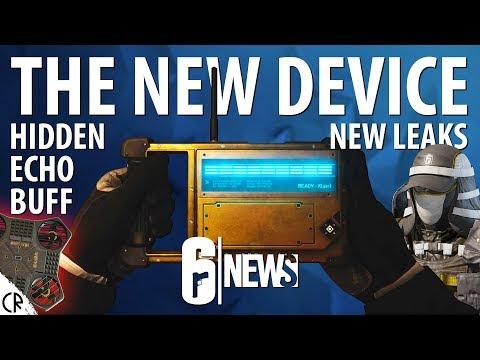 The New Device is OP - Hidden Echo Buff & Leaks - 6News - Tom Clancy's Rainbow Six Siege - R6