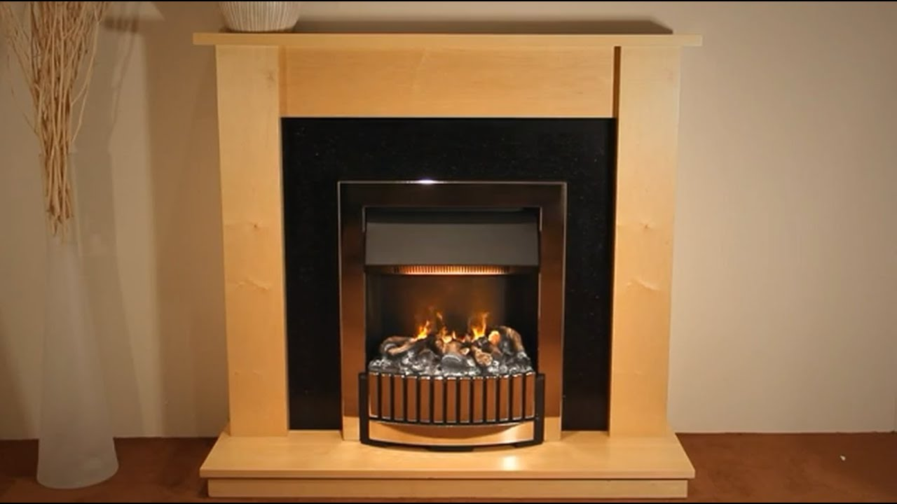 Dimplex Whitmore Optimyst Electric Inset Fire  YouTube