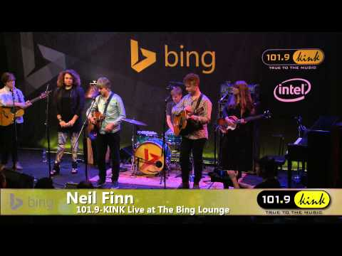 Neil Finn - Interview (Bing Lounge)