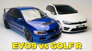 EVO 9 vs GOLF R