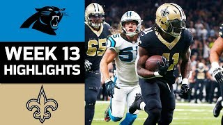 Panthers vs. Saints | NFL Week 13 Game Highlights 2017 Video