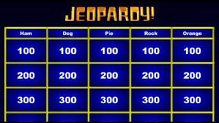 Jeopardy Maker - No Need for Powerpoint