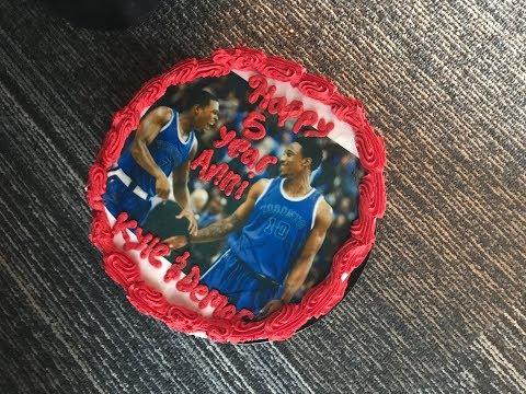 Kyle Lowry & DeMar DeRozan's Anniversary Cake - Cabbie Presents