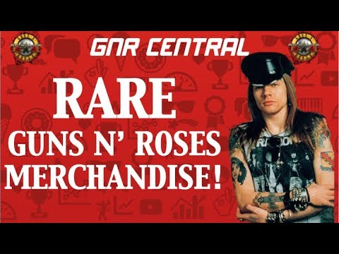 Guns N' Roses Rare Collectables & Cool Memorabilia! Appetite for Destruction/Use Your Illusion Era