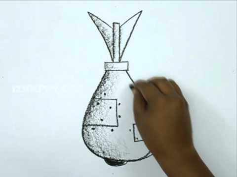 How to Draw a World War Bomb - YouTube