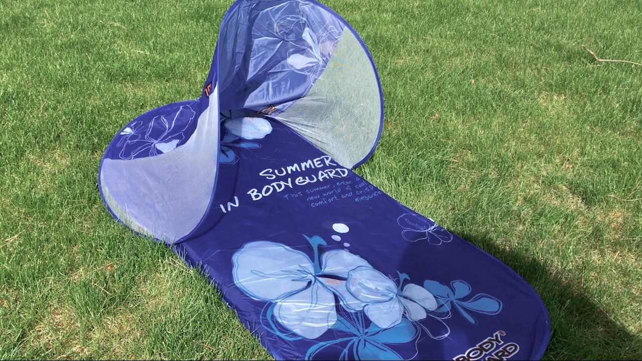 Sun Shade Beach Tent Pop up Canopy One-touch Beach Tent by BodyGuard review & Sun Shade Beach Tent Pop up Canopy One-touch Beach Tent by ...
