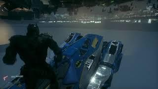 Batman: Arkham Knight - Free roam Batmobile glitch
