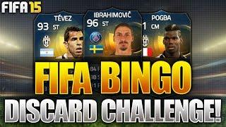 FIFA BINGO!!! THE MOST UNLUCKY FIFA BINGO EVER!?! Fifa 15 TOTS Fifa Bingo Discard Challenge