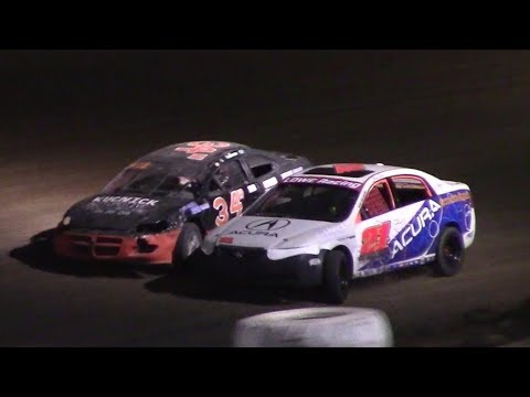 Mini Stock Heat Four | McKean County Raceway | 9-30-17