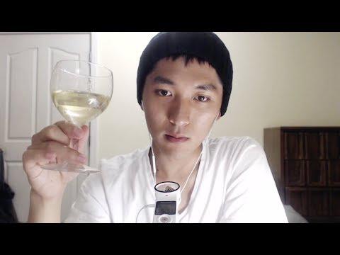 日本語ASMR|ワイン飲みながら、日本語でおしゃべり🥂 | 音フェチ|韓国人