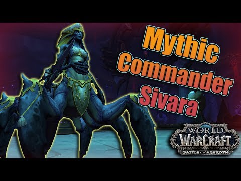BFA - 8.2 Eternal Palace Mythic Abyssal Commander Sivara Kill! Affliction Warlock POV!