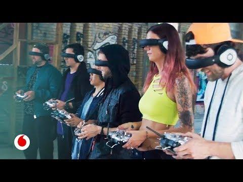 Carreras de drones: arranca la liga mundial del deporte del futuro