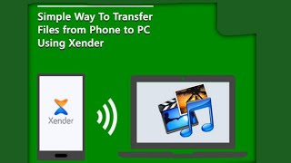 How to Transfer Files From Android Phone to PC Using Xender screenshot 5