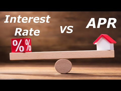 Mortgage APR Vs Interest Rate. What's The Difference?
